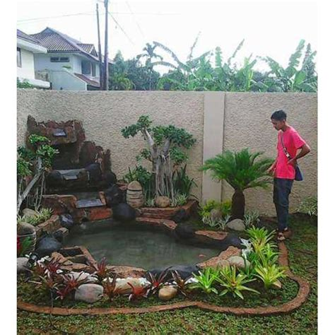 Harga Mesin Pompa Air Irigasi Mini jual jasa buat kolam air terjun kolam minimalis kolam