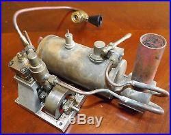 toy boat steam engine vintage scratch built live steam engine model toy boat