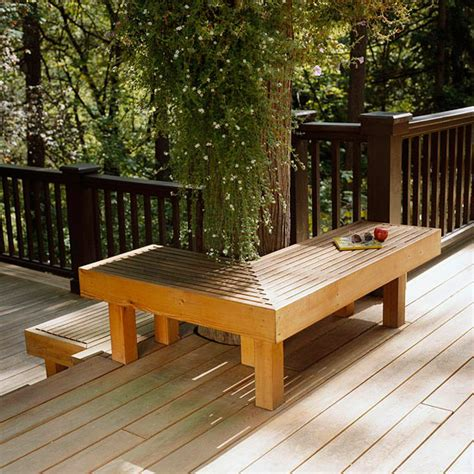 deck bench seating ideas wooden seating for your outdoor deck superior hardwoods