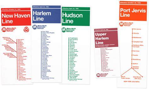 metro harlem line map metro commuter railroad i ride the harlem line