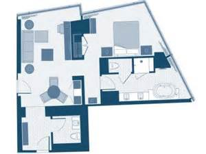 Aria Sky Suite Floor Plan | pin suite floor plan on pinterest