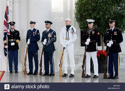 white house marines military officers from army navy coastguard airforce