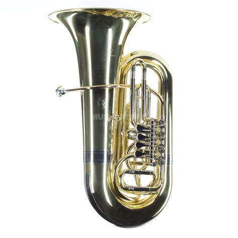 Brass L by Monzani Mzbb 210l Bb Tuba Brass Lacquered 4 Valves