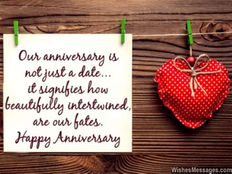 Wedding Anniversary Message To Us by Anniversary Wishes For Quotes And Messages For