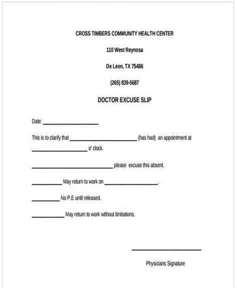 27 Free Doctors Note Templates Free Premium Templates Doctors Note For Work Template