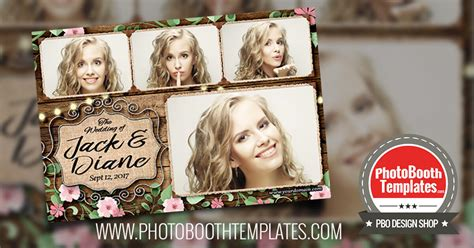 5 New Photo Booth Templates Released Pbo Design Shop Free Wedding Photo Booth Templates