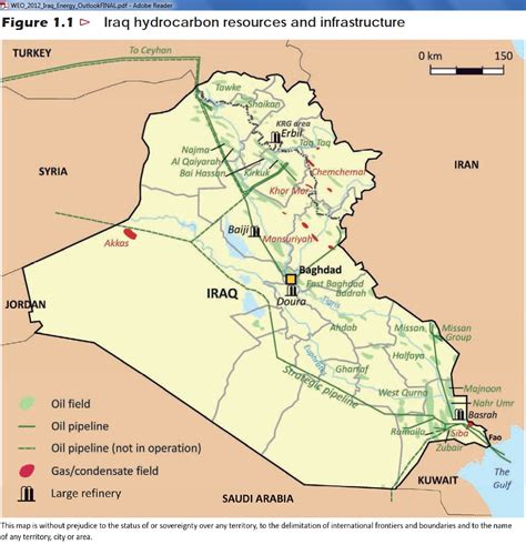 map of iraqi fields iraq fields map