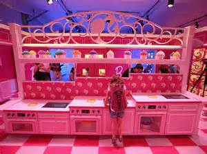 Barbie Dreamhouse by Barbie S Giant Pink And Purple Dream House Is Berlin S
