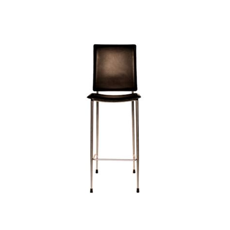 Black Leather Stools by Furniture For Hire Settings Black Leather Stool