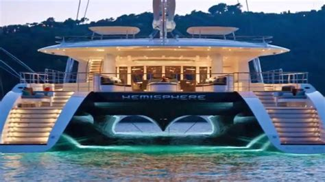 Luxury Homes Interior Photos by Hemisphere Superyacht Megayacht Catamaran Billionaires