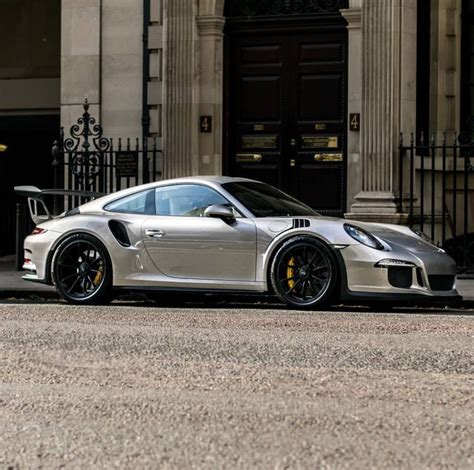 silver porsche gt3 porsche 991 gt3 rs painted in gt silver photo taken by