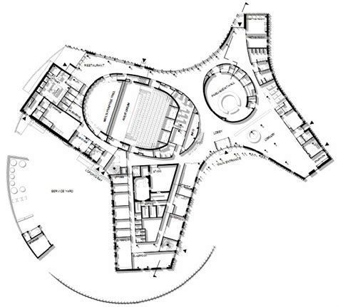 Design Floor Plans by Gallery Of Sami Cultural Center Sajos Halo Architects 13