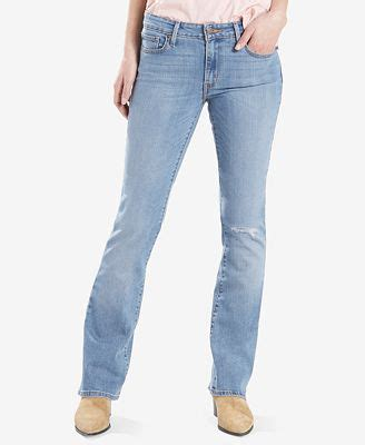 Ripped Boot Cut levi s 174 715 ripped bootcut macy s