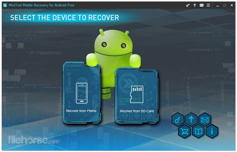 mobile software free for android minitool mobile recovery for android free 1 0 for