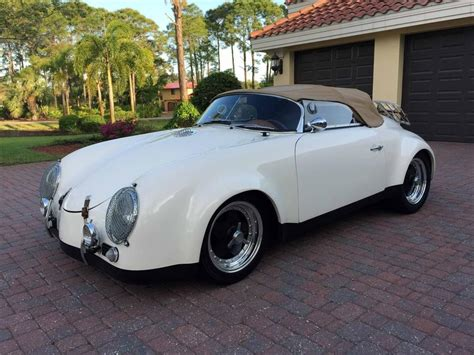 convertible porsche 356 1988 cmc 1957 porsche 356 speedster c widebody convertible
