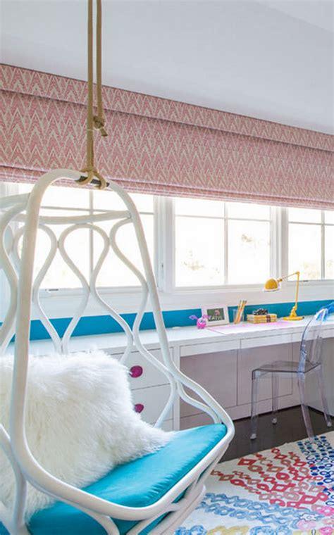 chairs for teen bedroom ombre teen girls bedroom with hanging chair nicole