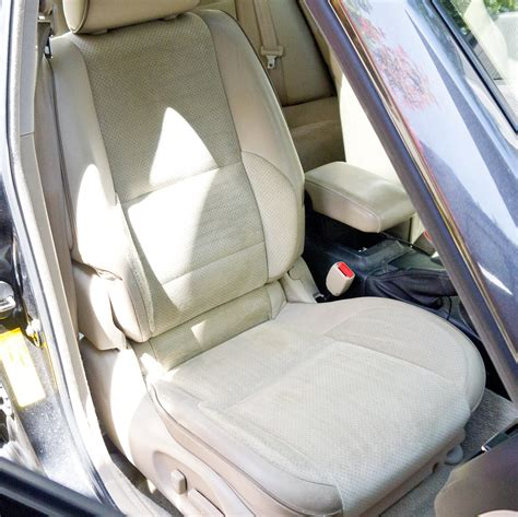 cleaning leather upholstery car how to clean car seats popsugar smart living