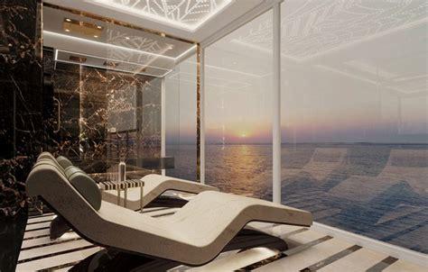 largest suite  built   luxury cruise