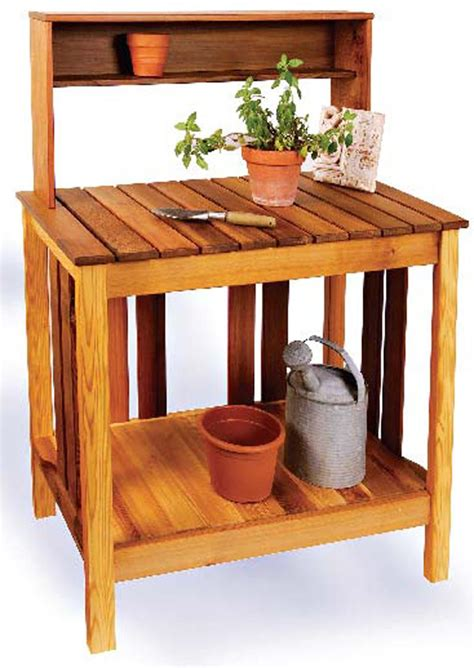 how to build a simple potting bench how to make a easy potting bench benches