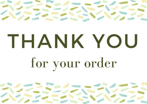 thank you for your order card template free customer thank you archives thank you note wording