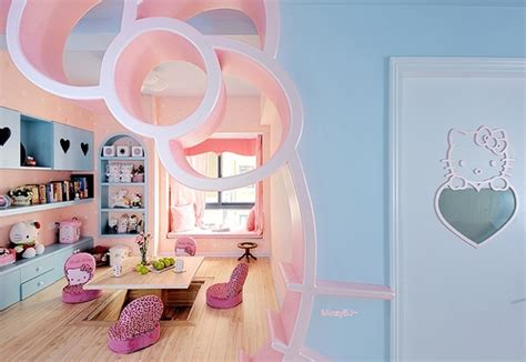 imagenes de hello kitty moderna habitaciones decoradas de hello kitty