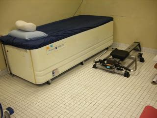 hydrotherapy bed physiotherapy department 96 hospital angkatan tentera