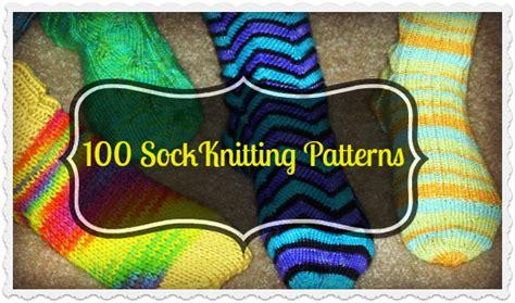 socks pattern knitting free 100 free sock knitting patterns the knit wit by shair
