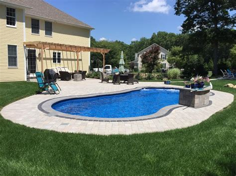 Island Pool And Patio by Kingstown Fiberglass Pool And Patio Elvio And Sons