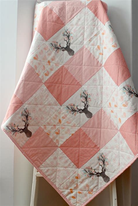 Handmade Baby Quilts For Sale - baby quilts handmade baby quilt woodland nursery