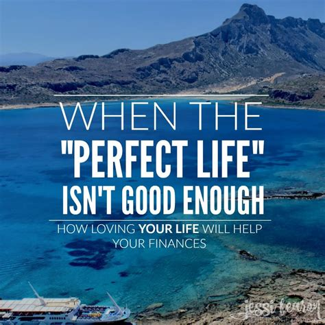 perfect life isnt good  jessi fearon