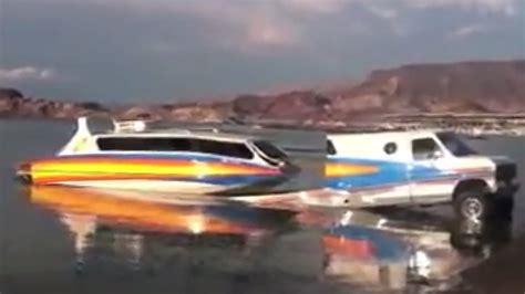 truck boat tow vehicle trailer and boat all in one boats