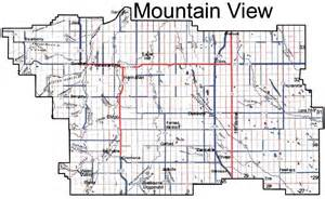 view map county of mountain view map