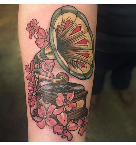 kustom thrills tattoo nashville tn 17 best ideas about gramophone on