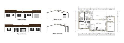 Garage Floor Plans vue en plan fa 231 ades maison individuelle pour catalogue