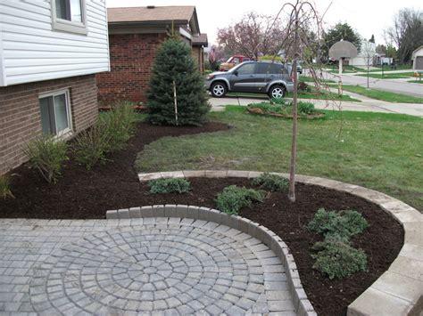building a paver patio on a hill brick pavers total lawn care inc lawn maintenance
