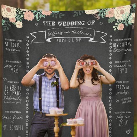 wedding booth backdrop 8 ways to entertain your wedding guests with personalized