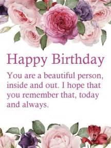 happy birthday flower card messages best 25 happy birthday wishes ideas on