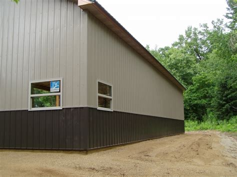 Kittles Garage by 36 X 64 X 14 Porch Custom Barn Construction Michigan