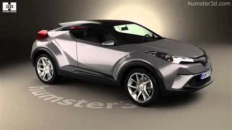 toyota c hr 2016 3d model by humster3d