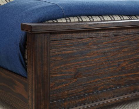 trudell sleigh bed  signature design  ashley