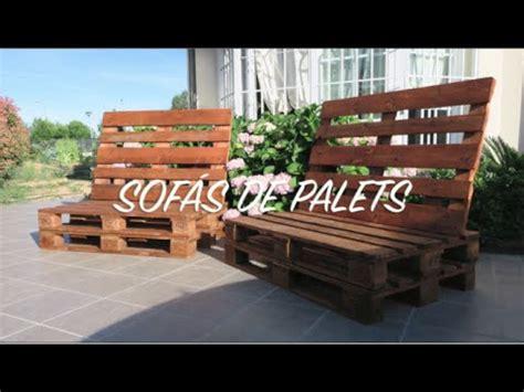 sofas de palets paso a paso sof 225 de palets paso a paso
