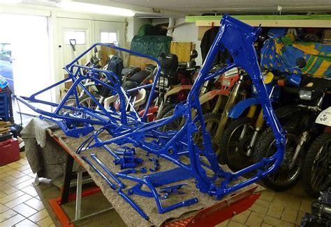 Motorradrahmen Bauen by Endurogespanne Motorr 228 Der Yamaha Srx600 Tt600 Enduro
