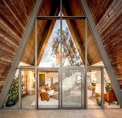 architecturally intriguing  frame  eagle rock house