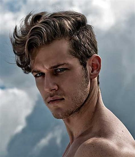 men hairstyles short sides long hair 25 wavy hairstyles men mens hairstyles 2018