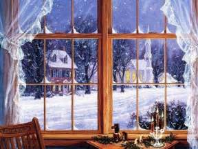 Kids Crafts Christmas - winter window illustration pictures photos and images for facebook pinterest and twitter