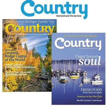 country magazine subscription country magazine subscription 3 99 year