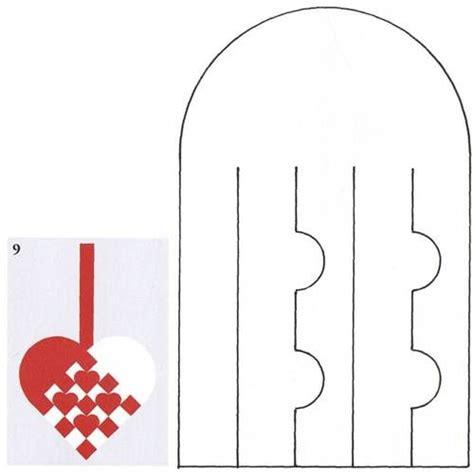 paper weaving template flettehjerter s 229 dan fletter du julehjerter masser af