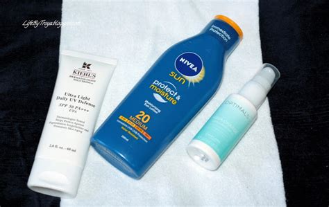 Review Nivea Care Creme Troya S Land review sunscreens kiehl s ultra light daily uv defense