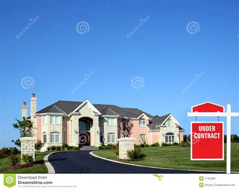 under contract house under contract stock photo image 1145480