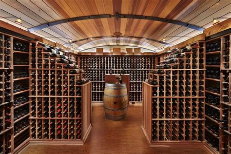 Ski Home Decor this functional wine cellar can store 3 000 bottles